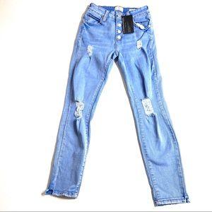 Cotton On Mid Grazer Skinny Distressed Jean 4
